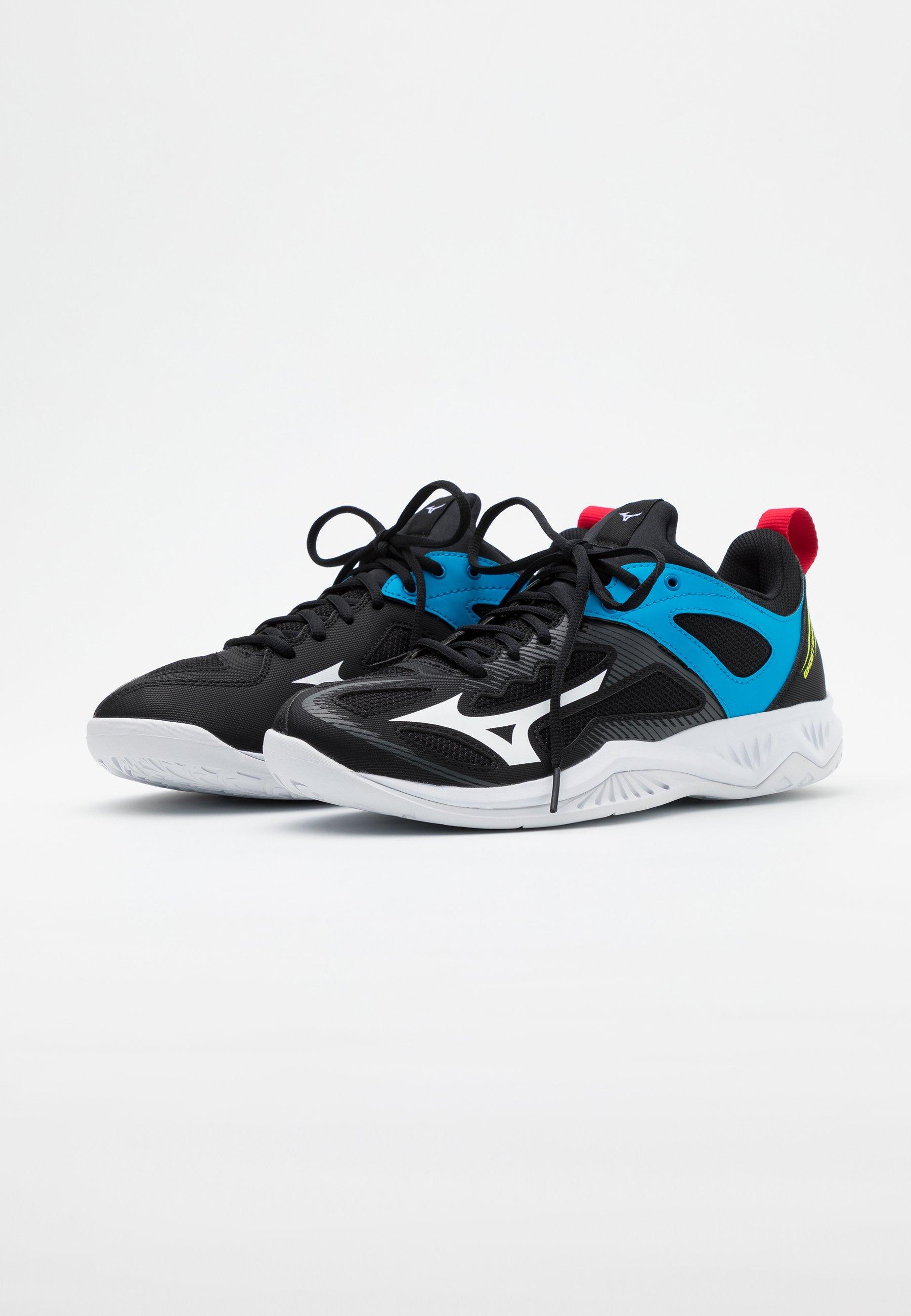 Mizuno Ghost Shadow - Handball Shoes Black/white/diva Blue