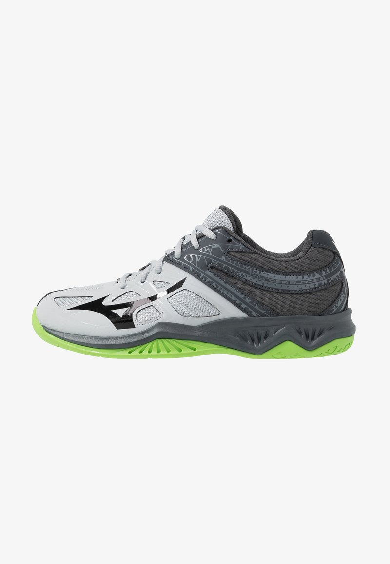 Mizuno - THUNDER BLADE 2 - Volleyballschuh - high rise/black/green gecko