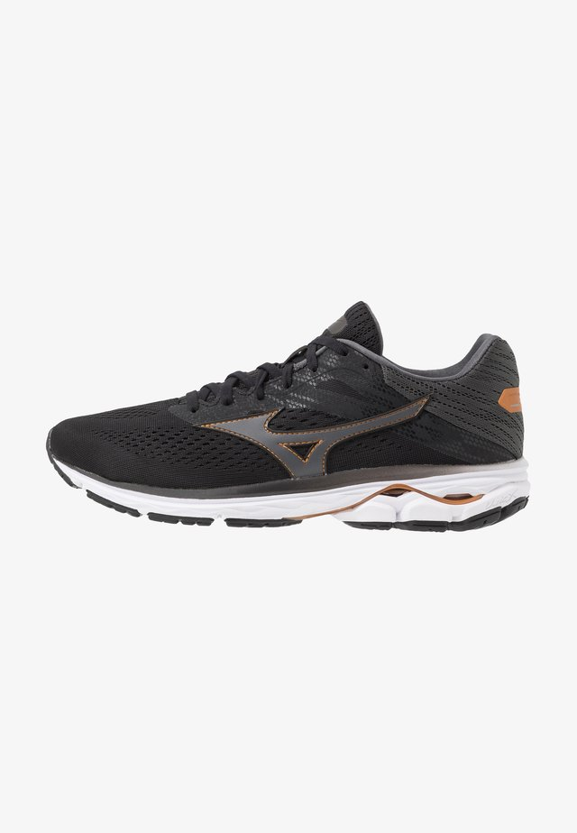 WAVE RIDER 23 OSAKA - Neutral running shoes - black/dark shadow