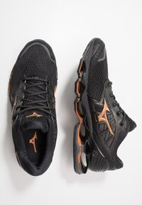 Mizuno - WAVE PROPHECY 9 - Neutrale løbesko - dark shadow/black - 1