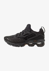 Mizuno - WAVE CREATION WAVEKNIT 2 - Neutrale løbesko - dark shadow/black - 0