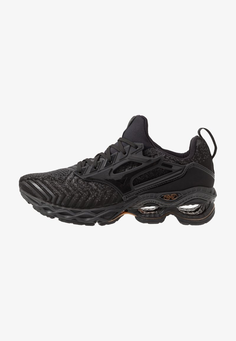 Mizuno - WAVE CREATION WAVEKNIT 2 - Neutrale løbesko - dark shadow/black