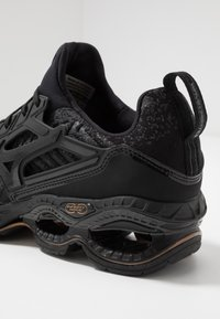 Mizuno - WAVE CREATION WAVEKNIT 2 - Neutrale løbesko - dark shadow/black - 5