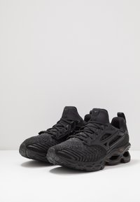 Mizuno - WAVE CREATION WAVEKNIT 2 - Neutrale løbesko - dark shadow/black - 2