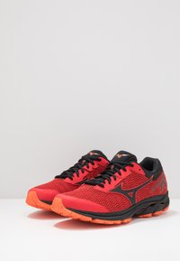 Mizuno - WAVE RIDER TT - Løbesko trail - high risk red/black/red orange - 2
