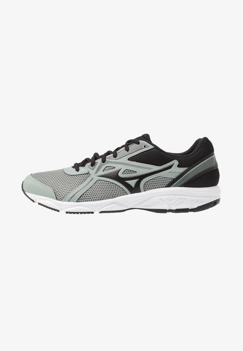 Mizuno - WAVE SPARK 5 - Obuwie do biegania treningowe - black/slate grey