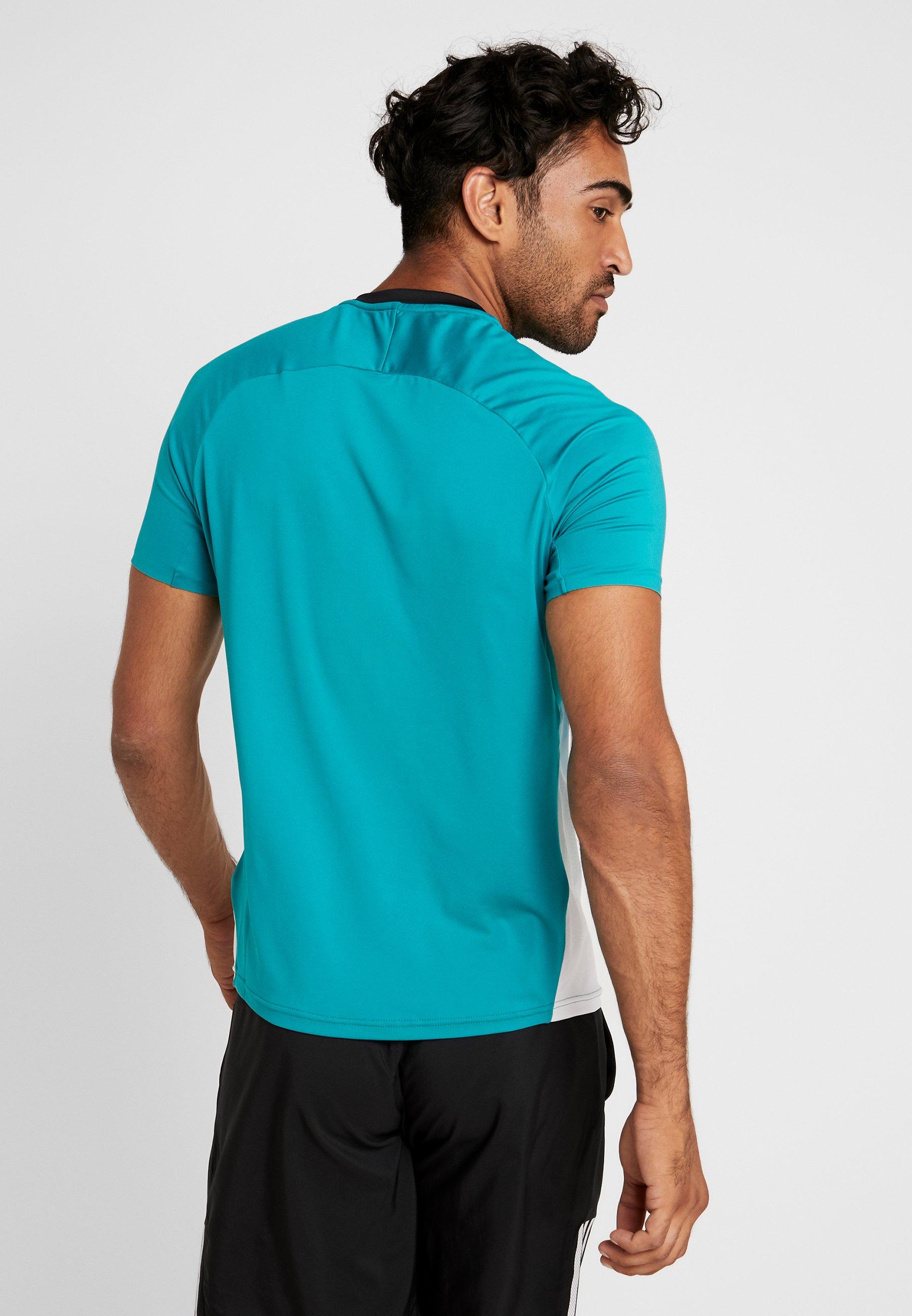 Grass Graphic blue shirt White Imprimé TeeT Mizuno Shadow wmN0v8n