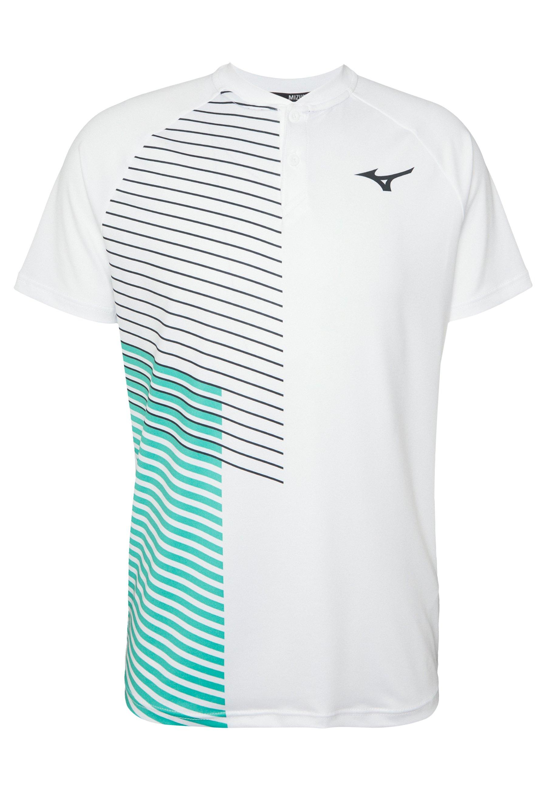 Mizuno Shadow - Print T-shirt White