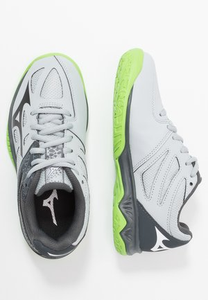LIGHTNING STAR Z5 - Volleyball shoes - high rise/black/green gecko