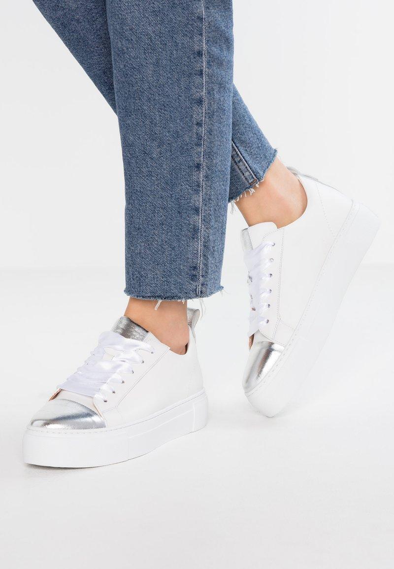 Maripé - Sneaker low - agnetlotto bianco/silver