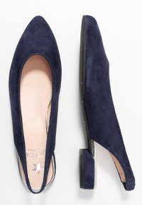 Maripé - Slingback ballet pumps - dark blue - 3