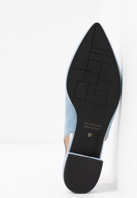 Maripé - Slingback ballet pumps - light blue - 6