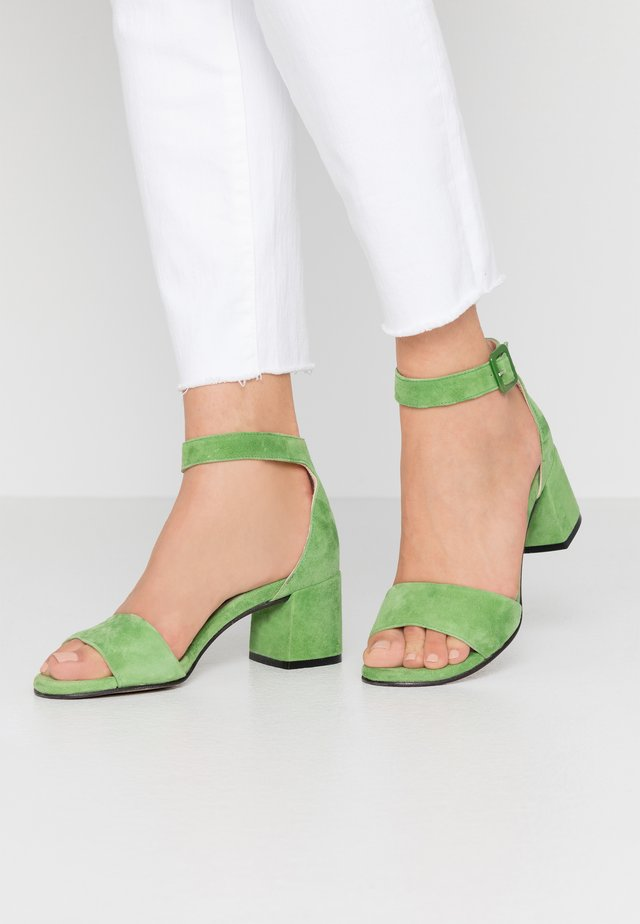 Riemensandalette - verde