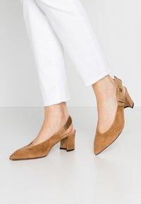 Maripé - Classic heels - cognac - 0