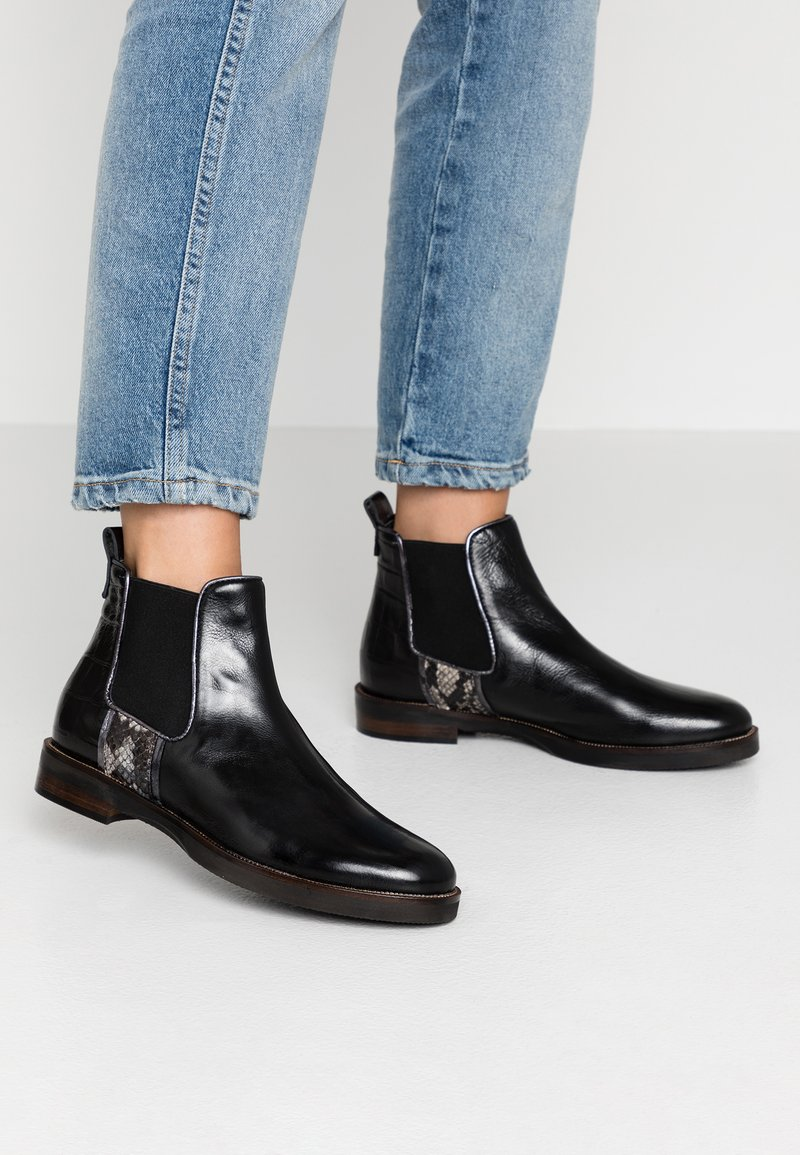 Maripé - Classic ankle boots - triumph nero/alba vintage/plomb/roccia/moira nero