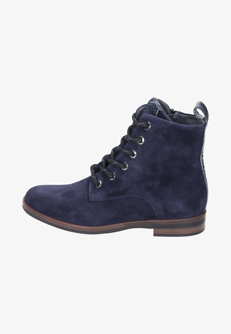 Maripé - Lace-up ankle boots - blue