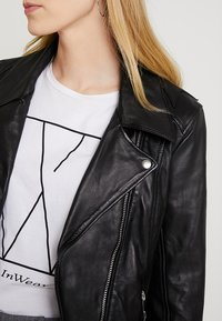 Maze - INDIANA - Leather jacket - black - 4