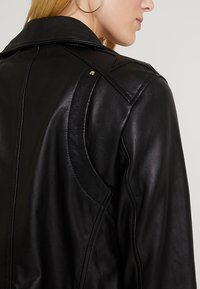 Maze - INDIANA - Leather jacket - black - 7