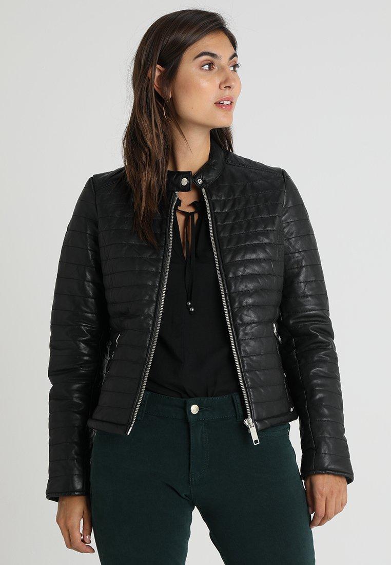 Maze - SOTA - Leather jacket - black