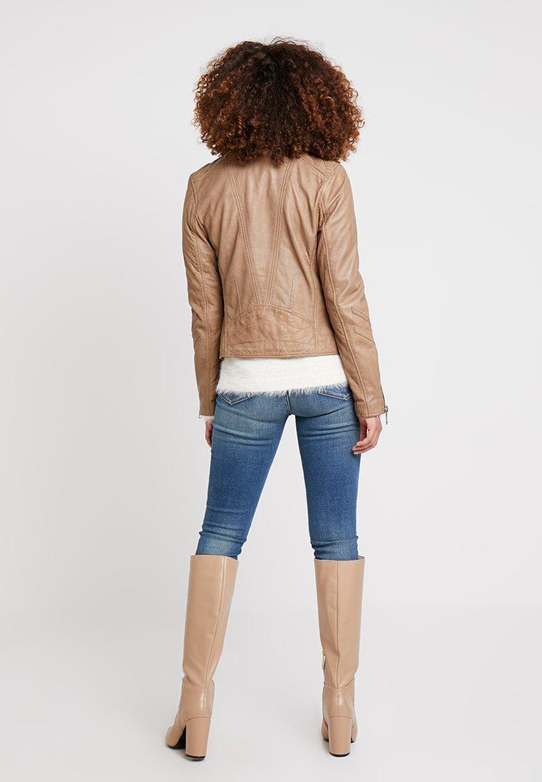 Maze LINDSAY - Veste en cuir beige
