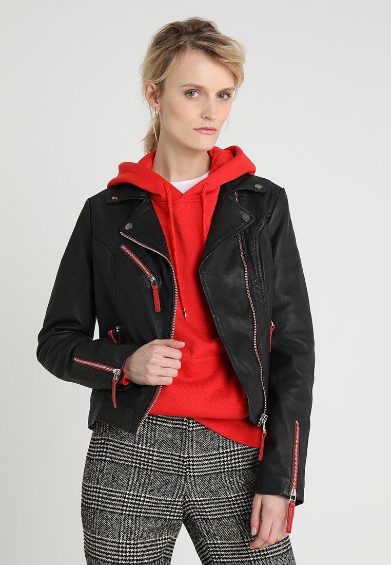 Maze - AMUR - Leather jacket - black