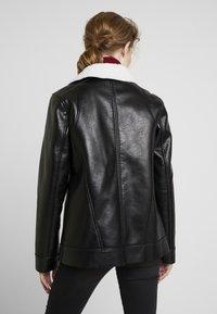 Maze - ANACORTES - Faux leather jacket - black - 2