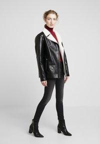 Maze - ANACORTES - Faux leather jacket - black - 1