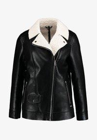 Maze - ANACORTES - Faux leather jacket - black - 3