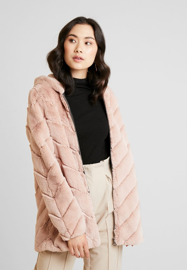 CAMPANA - Winter coat - light blush