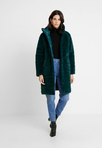 Maze - LIDA - Winter coat - petrol - 1