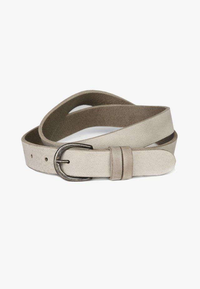 Belt - light grey