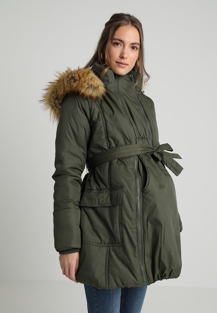 Modern Eternity - RACHEL - Winter coat - khaki