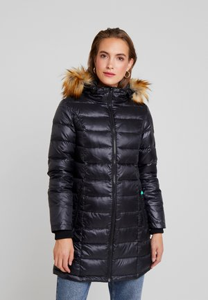 ABIGAL 3-IN-1 QUILTED MATERNITY - Piumino - black