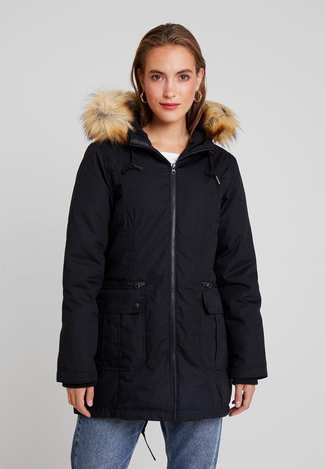 SARA 3 IN 1 GABARDINE MATERNITY - Down coat - black