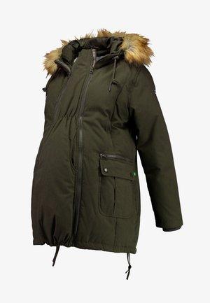 SARA 3-IN-1 MATERNITY - Winter coat - khaki