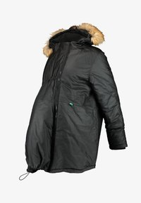 Modern Eternity - SOFIA 3-IN-1 WAXED GABARDINE MATERNITY - Abrigo de invierno - black - 5