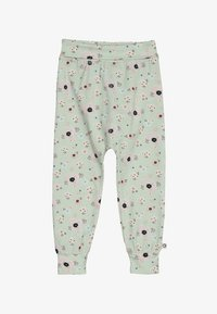 Müsli by GREEN COTTON - SPICY ANEMONES PANTS BABY - Pantalones - dusty green - 3