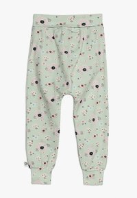 Müsli by GREEN COTTON - SPICY ANEMONES PANTS BABY - Pantalones - dusty green - 1