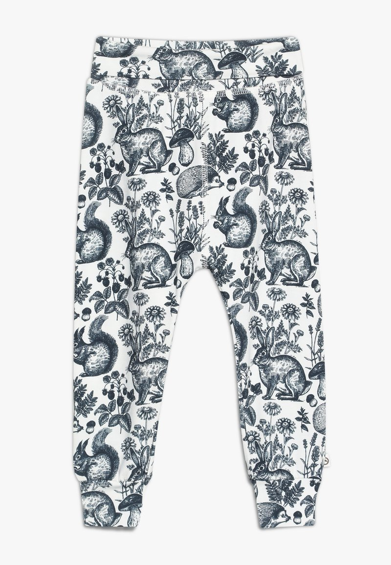 Müsli by GREEN COTTON - FOREST PANTS BABY - Stoffhose - cream