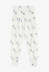 Müsli by GREEN COTTON - SHADOW BABY ZGREEN - Trousers - cream - 3