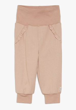 COZY FRILL PANTS BABY - Kangashousut - dream blush