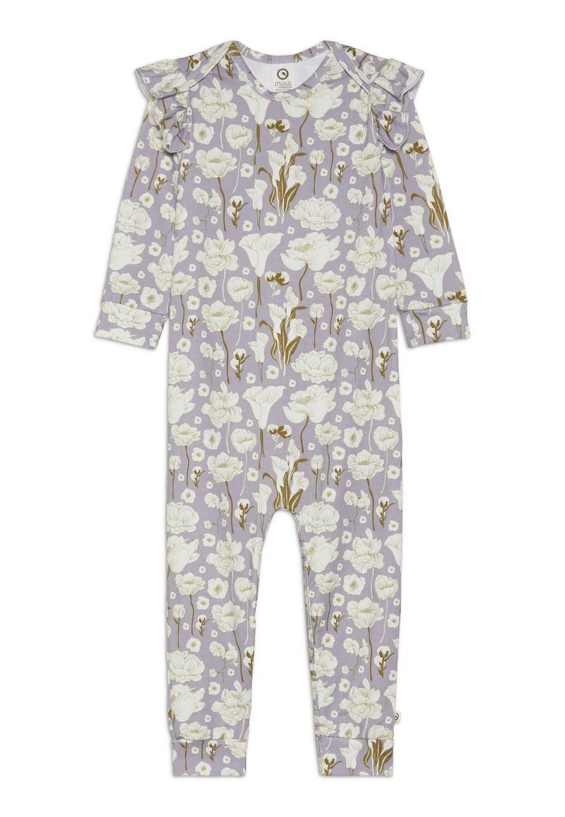 Müsli by GREEN COTTON - BABY - Mono - light lavender
