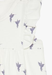 Müsli by GREEN COTTON - SHADOW BEACH GIRL BABY ZGREEN - Overal - cream - 2