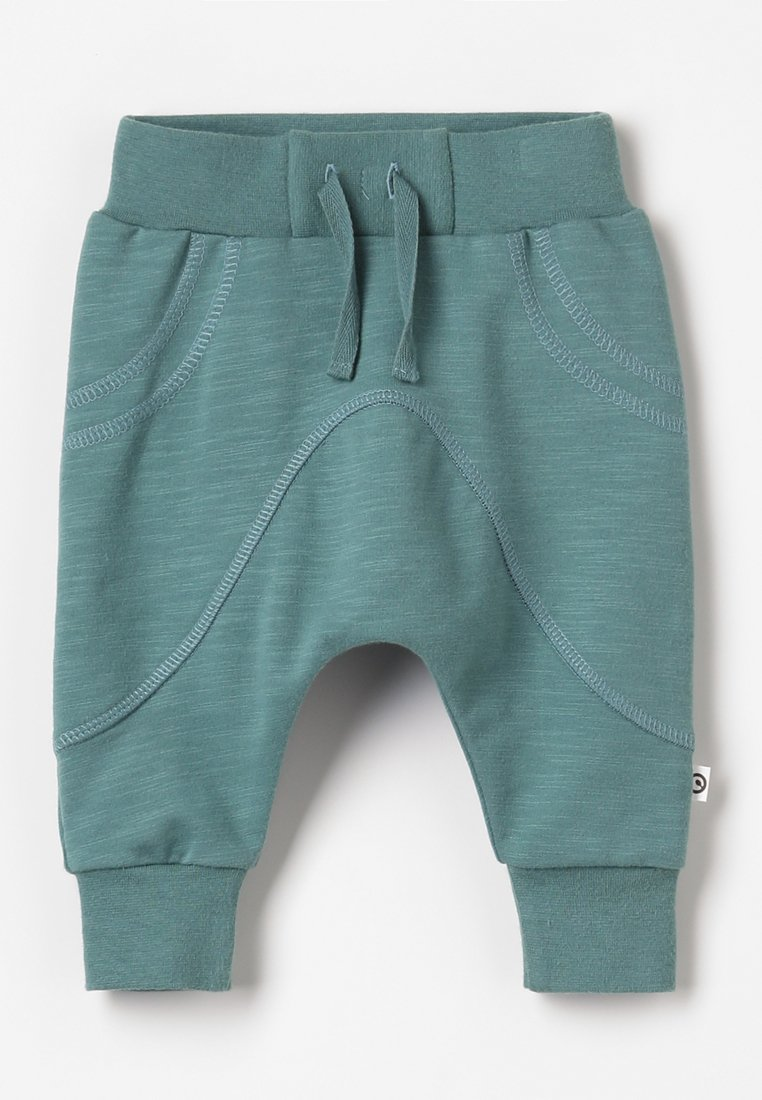 Müsli by GREEN COTTON - SLUB BOY BABY - Pantalones - dream green