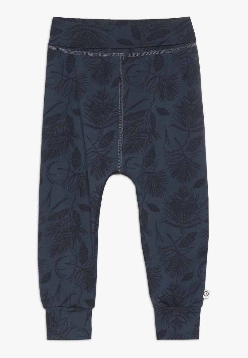 Müsli by GREEN COTTON - PINE PANTS BABY - Tygbyxor - midnight