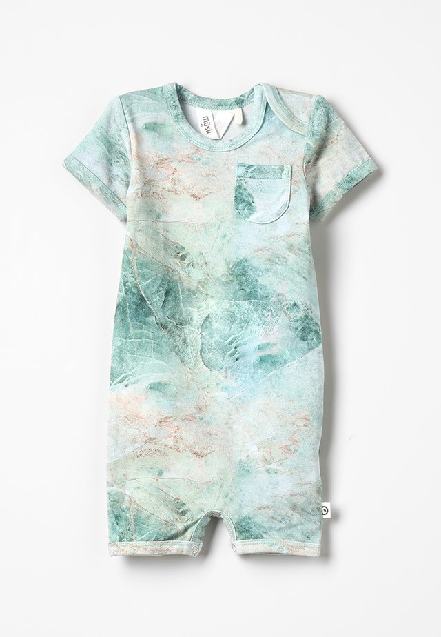 SPICY MARBLE BEACH BABY - Jumpsuit - dusty green
