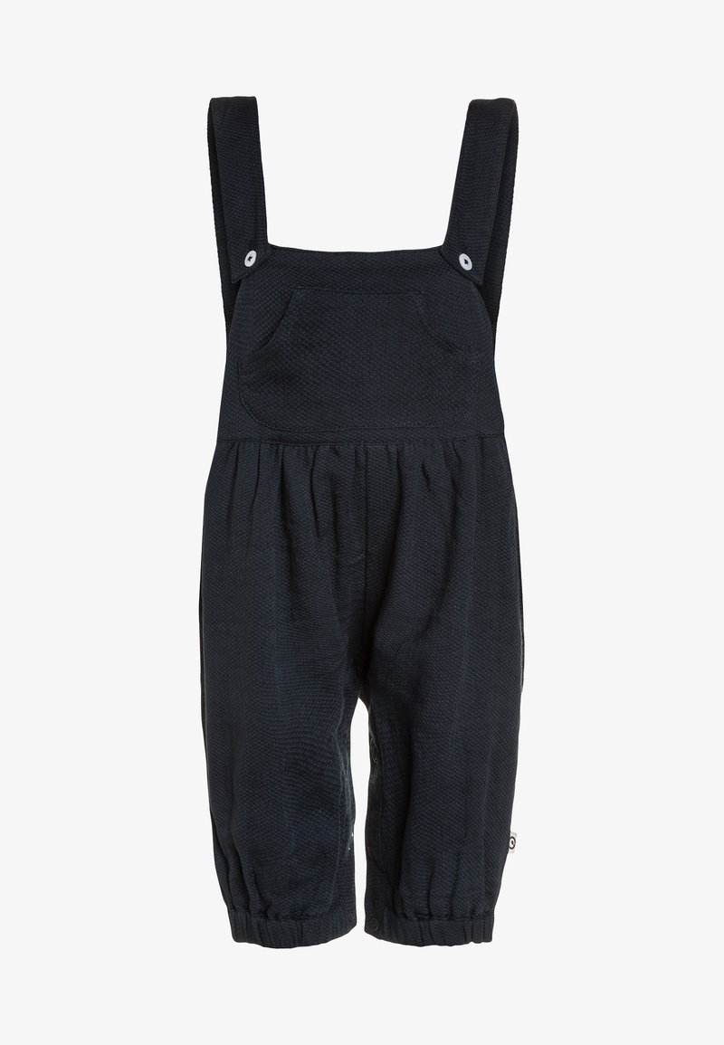 Müsli by GREEN COTTON - WOVEN OVERALL BABY - Mono - midnight