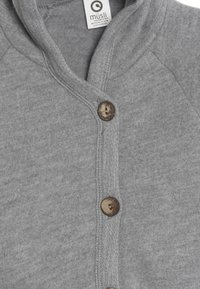 Müsli by GREEN COTTON - JACKET BABY - Fleecejas - pale grey - 3