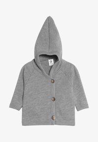 Müsli by GREEN COTTON - JACKET BABY - Fleecejas - pale grey - 2