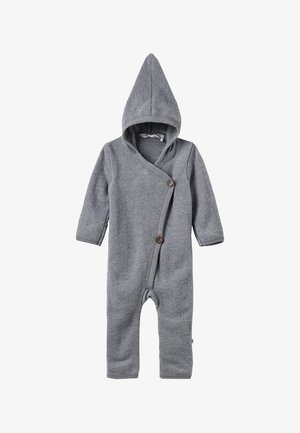 SUIT WITH HOOD BABY - Overal - pale greymarl